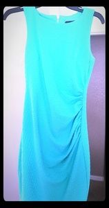 Dresses & Skirts - Ruched Foam Green Dress